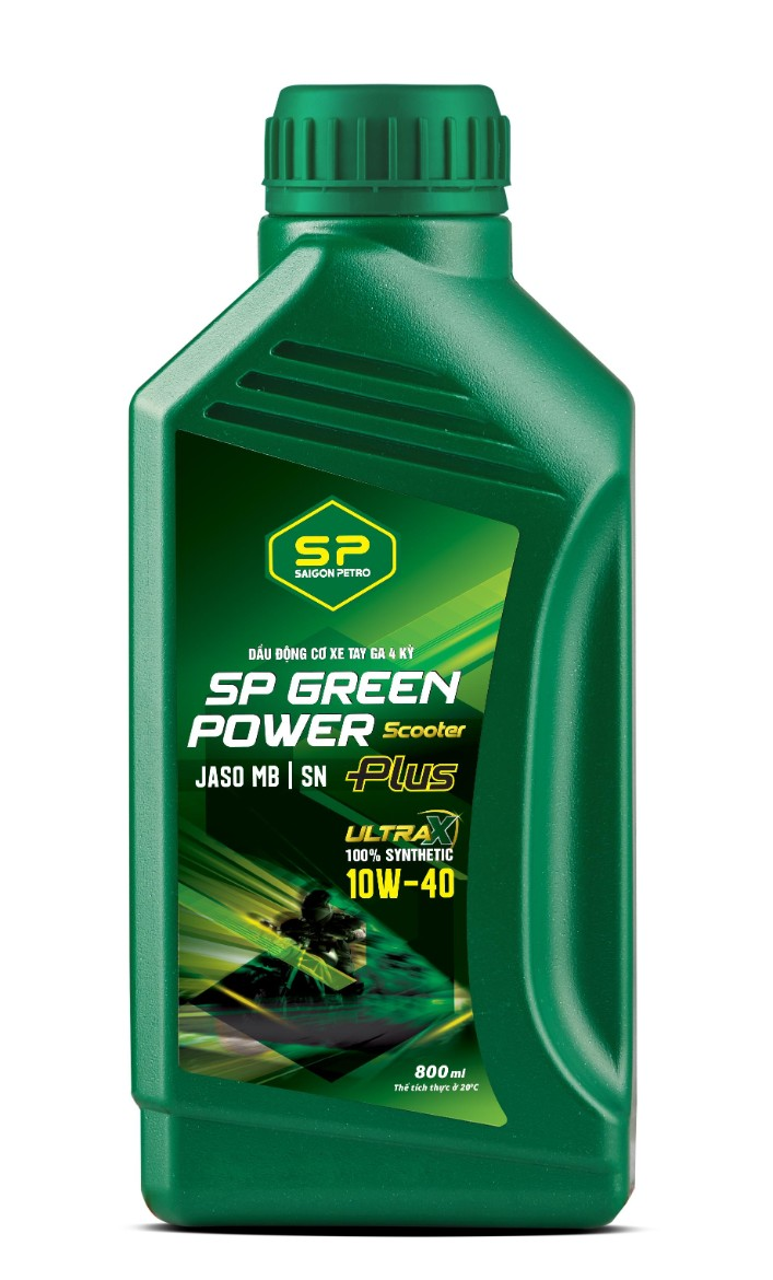 SP GREEN POWER SCOOTER PLUS SN 10W-40