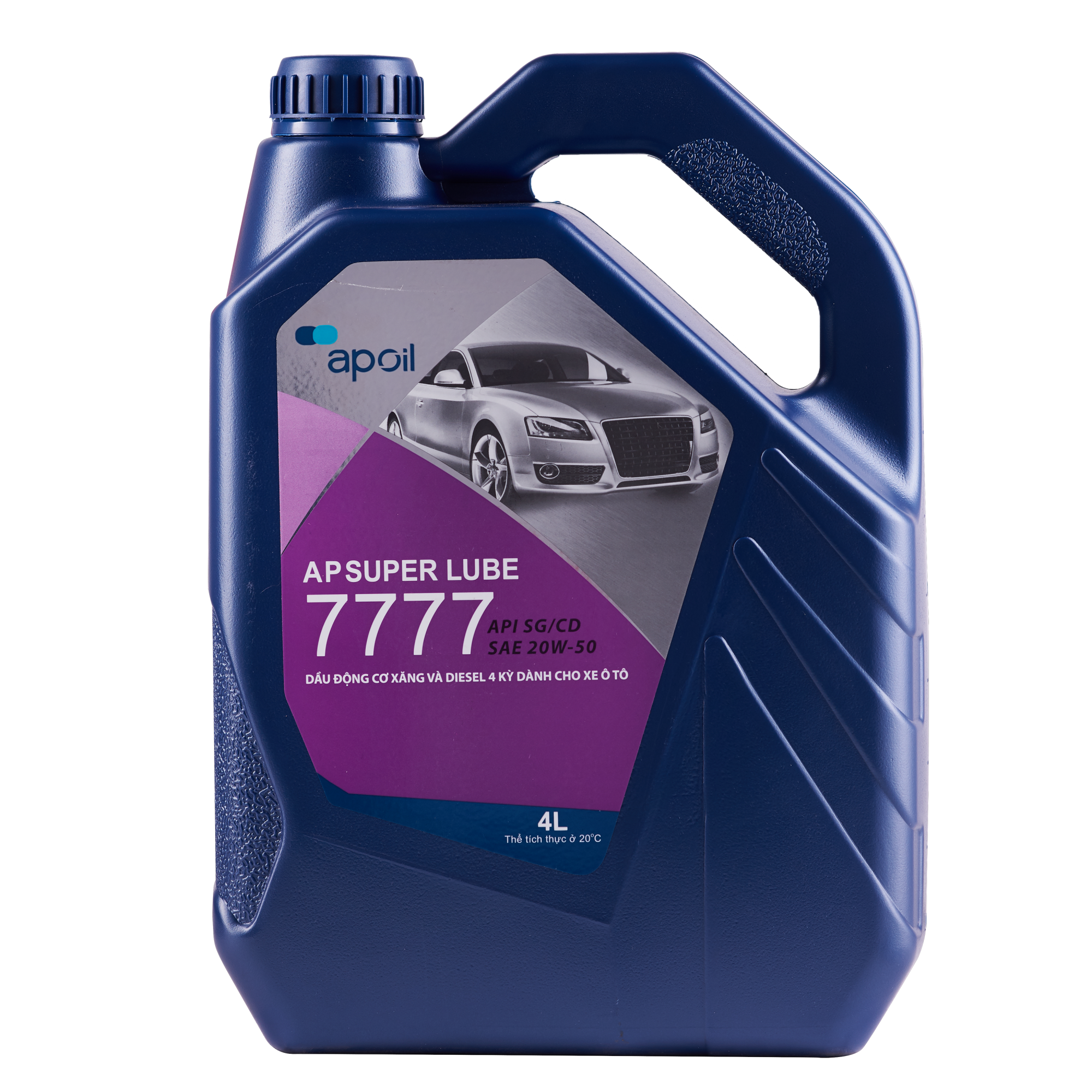 AP SUPER LUBE 7777 SG/CD 20W-50