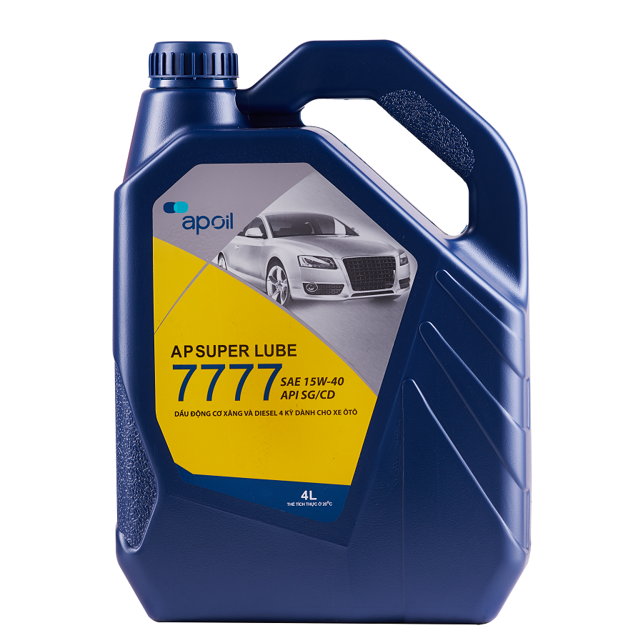 AP SUPER LUBE 7777 SG/CD 15W-40